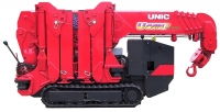 The UNIC 295C Mini Spider Crane Hire Ireland