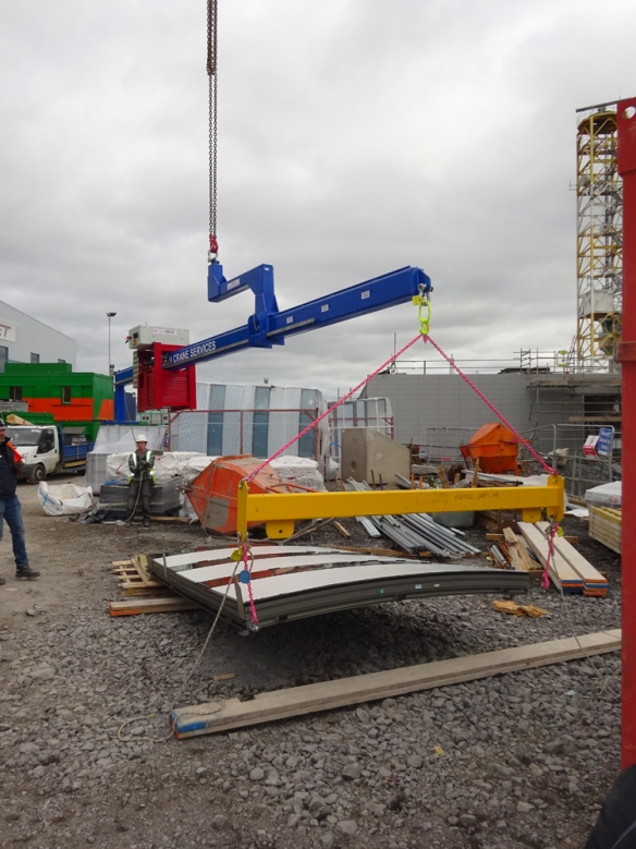 Counter Balance Beam Cranes Ireland