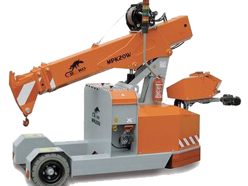 Jekko MPK20 Mini Picker Crane Hire and Sales